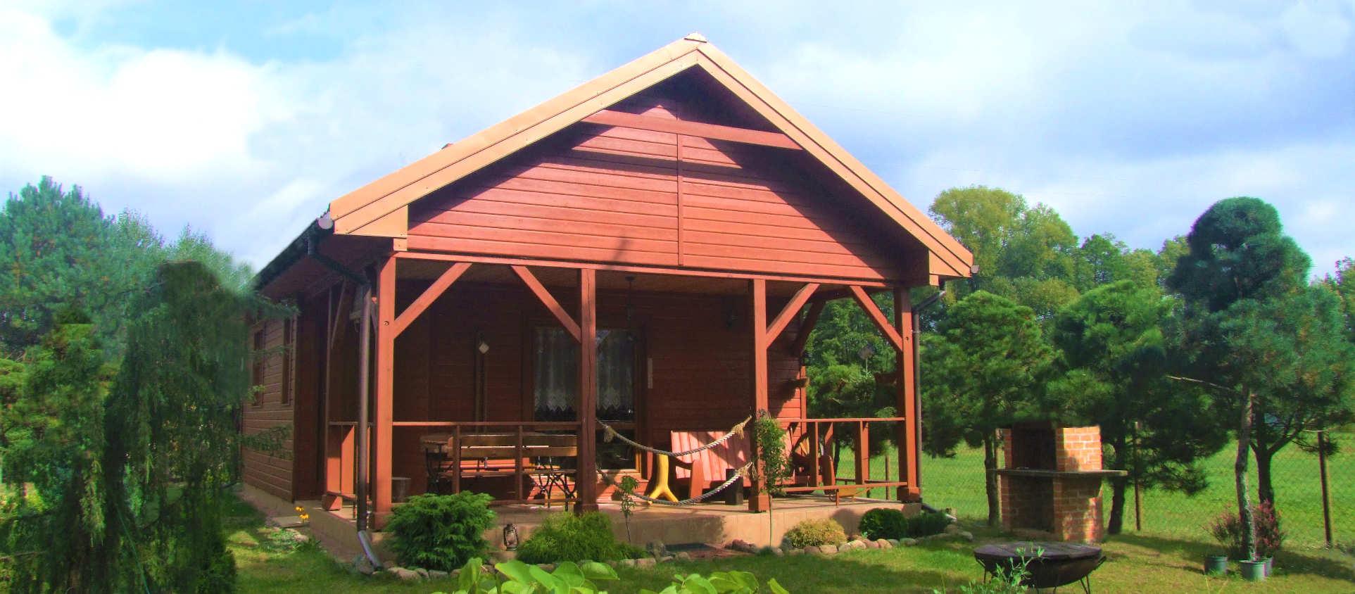 Dom drewniany - Lekki Szkielet Drewniany